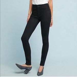 NWT Anthropologie Pilcro High-Rise Skinny Jeans 27